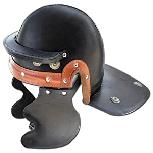 Roman Imperial Gallic Toopers Leather Helmet