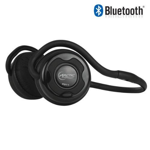 ARCTIC P311 Bluetooth Stereo Headphones, Integrated Microphone, 20-Hr Playback - Black ARCTIC Headphones autotags B008EOXXFI