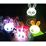 Gift Idea! MagicLightz LED Rabbit-shaped Color Changing Battery Night Light, Random Types Of Impressions, Price/Pieceby MagicLightz
