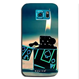 Mozine Ace Light Up printed mobile back cover for Samsung s6