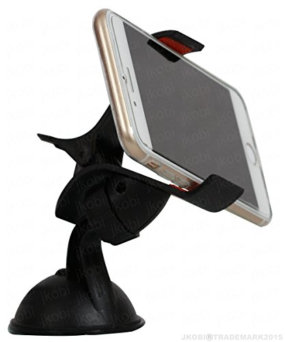 Universal 360 Degree Rotating Car / Desk Mount Mobile Holder Mobile Phone Stand Compitable For Gionee Elife S5.1 -Black  available at amazon for Rs.194