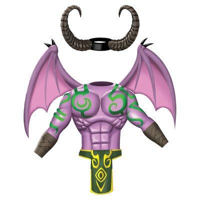 World Of Warcraft Adult Illidan Set, Purple, Standard