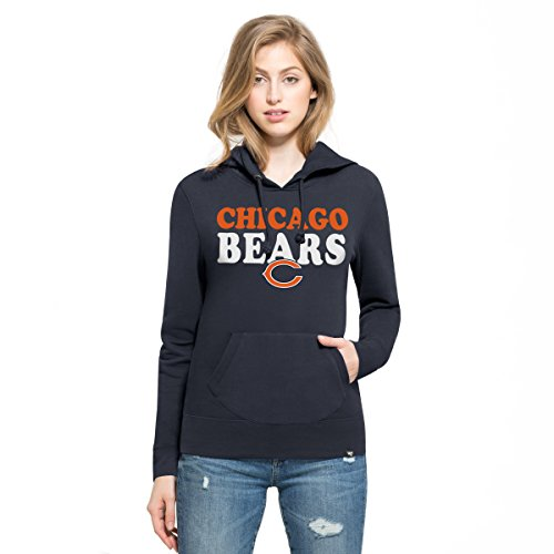 NFL Chicago Bears Women's '47 Headline Pullover Hoodie, X-Large, Fall Navy (Chicago Bears Womens Hoodie compare prices)