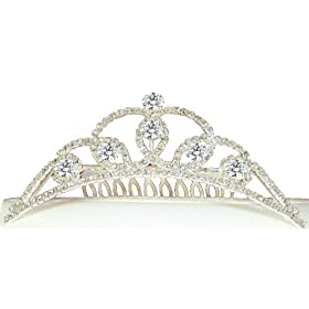 Quinceanera Diamond Caress Comb Tiara