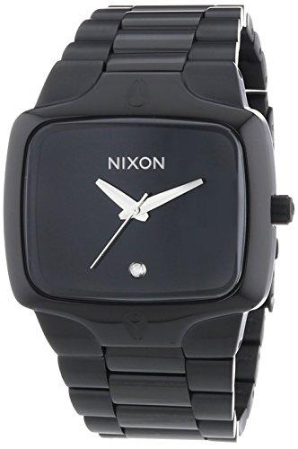 nixon-1001-a140-montre-homme-quartz-analogique-bracelet-acier-inoxydable-noir