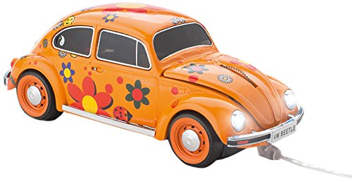 Click Car Mouse VW Beetle Wired Optical Mouse, Flower Power (CCM-VWBEETLE-FLOWER)
