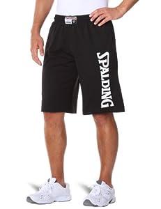 Spalding Authentic Shorts Short basket-ball homme Noir S