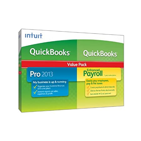 QuickBooks Pro with QuickBooks Enhanced Payroll 2013