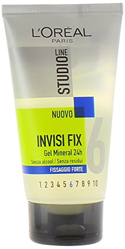 L'Oréal Paris Studio Line Invisi Fix Gel Fissaggio Forte, 150 ml