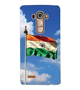 ColourCraft Indian Flag Back Case Cover for LG G4