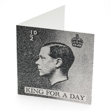 King For A Day Card by Annie Little