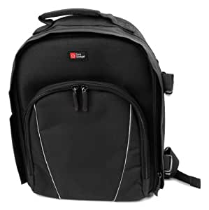 Premium Kamera-Tasche für Nikon D90 / Nikon D600 / Nikon D800 Spiegelreflex-Kameras - Schwarz - von DuraGadget
