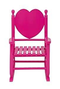 Jack Post Knc-14f Knollwood Heartbreaker Childs Rocker Fuschia Pink by Jack Post