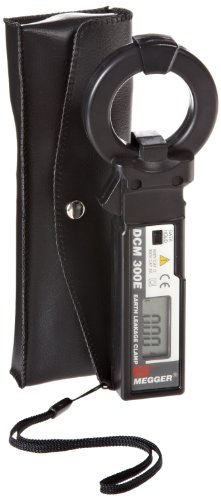 Megger Dcm300E Ground Leakage Clamp Meter, 300 Ma, 300A Current