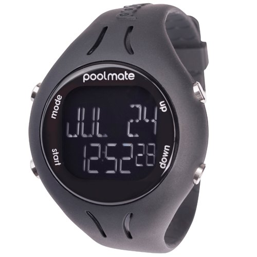 2016 Swimovate Piscinamate2 Swim Watch In Black