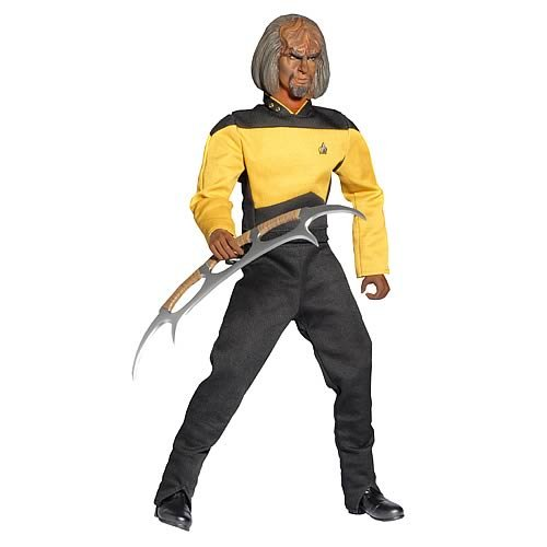 Dragon Models Star Trek: The Next Generation: Worf 1:6 Scale Action Figure