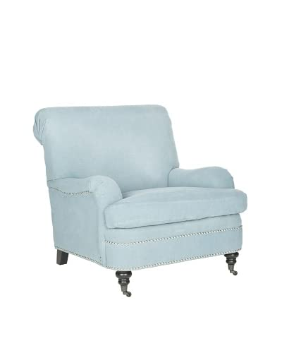 Safavieh Silvia Club Chair, Light Blue