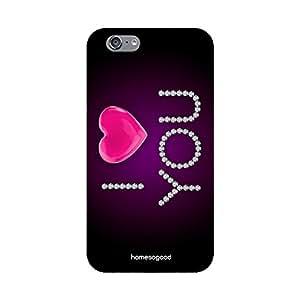 HomeSoGood Sparkling Heart Multicolor 3D Mobile Case For iPhone 6 (Back Cover)