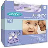 Lansinoh Affinity Double Electric Breast Pump, Lavender (Discontinued by Manufacturer)