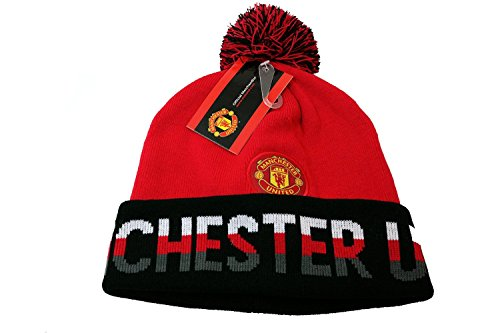 Manchester United Beanie Rhinox Skull Cap Hat New 2014-2015 (Manchester United Beanie Hat compare prices)
