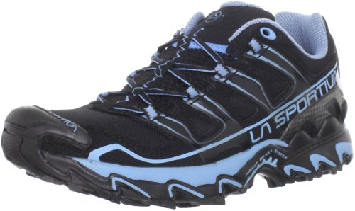 La Sportiva Raptor Trail Running Shoe Women's 9 USA Black/Light Blue