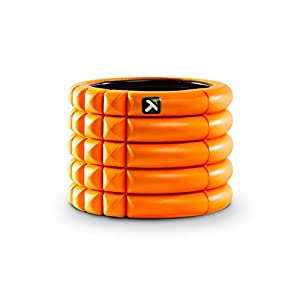 Trigger Point Performance Grid Mini Compact Foam Roller, Orange