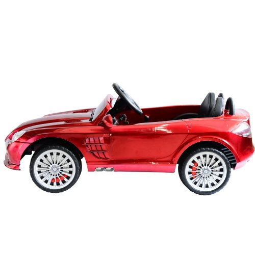 Mercedes benz kids 12v electric ride on toy car w parent for Mercedes benz toy car ride on