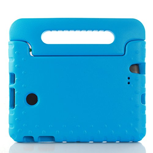 LG G Pad F 8.0 Inch V495 Tablet Kids Case - T-Trees Kids Shock Proof Convertible Handle Light Weight Super Protective Stand Cover Case for LG G Pad F 8.0 Inch V495 Tablet (Blue) (Lg G Pad Protective Case compare prices)