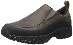 Merrell Men\'s Shiver Moc 2 Waterproof Slip-On Shoe,Dark Earth,10 M US