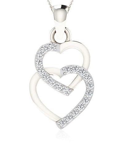 Diamant Vendome Set catenina e pendente DVP8349 Oro Bianco