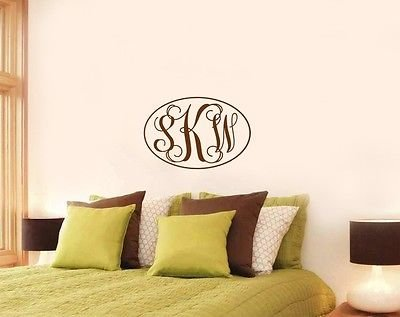 Personalized Monogram Decal Am009 front-550784