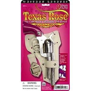 Gonher Texas Rose Pink Metal Cap Revolver (12 Ring)
