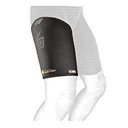 Shock Doctor Thigh-Groin Sleeve (Black, X-Large)