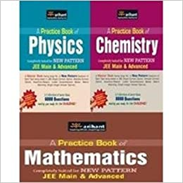 A Practice Books for Physics, Chemistry and Mathematics: JEE Main and Advance (Set of 3 Books) price comparison at Flipkart, Amazon, Crossword, Uread, Bookadda, Landmark, Homeshop18