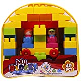 Smiles Creation Educational Game Blocks Play Learn Set Of 40Pcs Toy For Kids