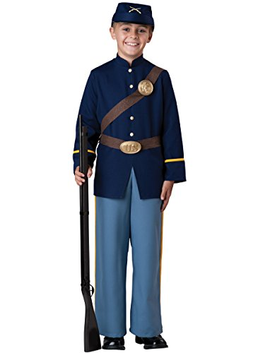 InCharacter Costumes Civil War Soldier Costume, Size 10/Large