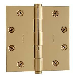 Baldwin 1045003i Square Mortise Hinge Lifetime Brass