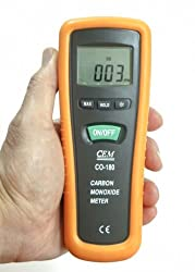 CO-180 Carbon Monoxide Meter** FREE CARRY CASE** LESS THAN HALF PRICE SALE** from CEM Instruments