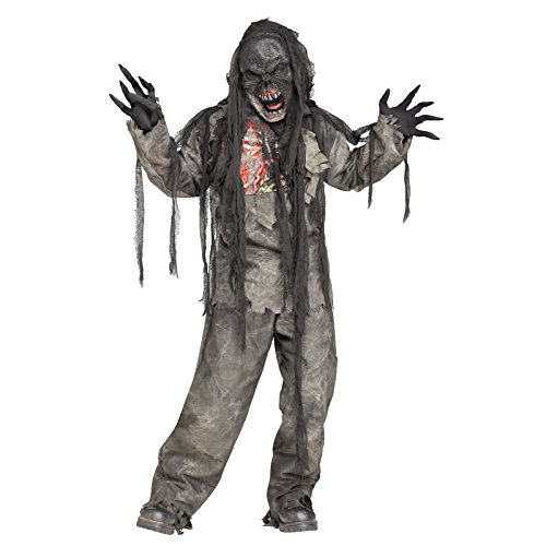 Kid's Zombie Costume (Size:Medium 8-10)