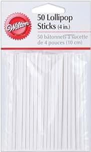 Lakeland White Cake Pop Sticks 10cm x 50