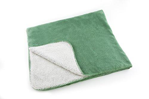 Soft Dog Blanket (Green) front-956451