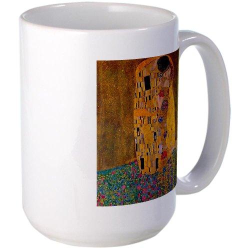 Cafepress The Kiss By Klimt Large Mug Large Mug - Standard