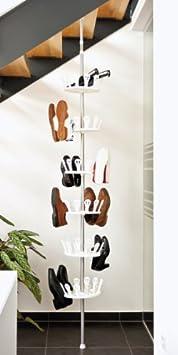 carrousel de rangement pour chaussures