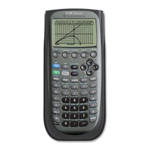 Texas Instruments (TI)-89 Titanium Graphing Calculator
