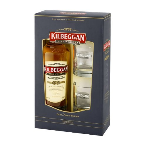 Kilbeggan Two Glass Gift Pack