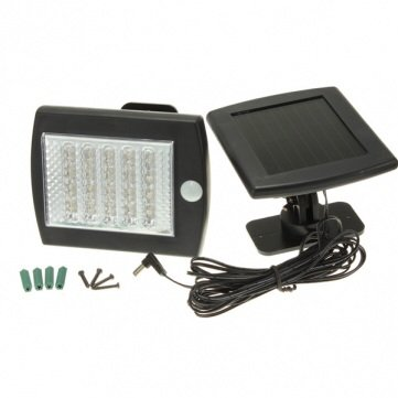 36 Led Outdoor Solar Power Motion Sensor Pir Security Garden Light
