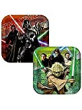 Star Wars Party Plates - Star Wars Square Dinner Plates