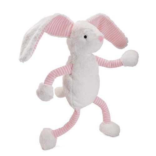"""North American Bear Company Baby Long Legs 18"""" Plush Toy, Pink Bunny front-594160"""