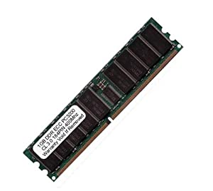 Komputerbay 1GB PC3200 DDR 400MHz CL3.0 ECC Registered 184 Pin - made for Servers not Desktops