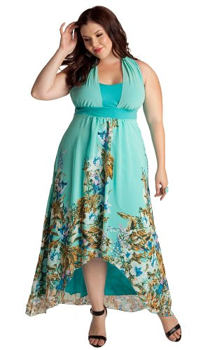 IGIGI Plus Size Olympia Maxi Dress 30/32